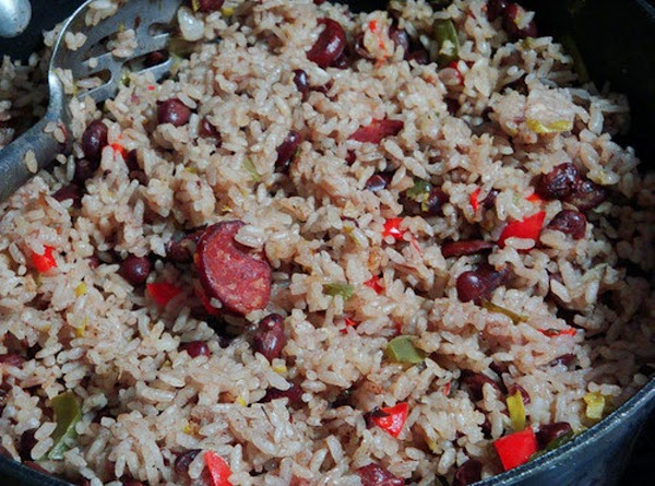 Oriental Congrio With Red Beans Recipe