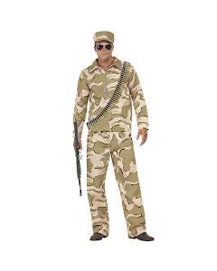 Dräkt, militärkostym med keps