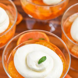 Mandarin Orange Jello Salad.