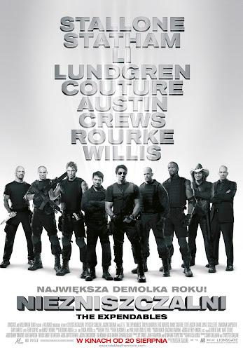 Polski plakat filmu 'Niezniszczalni'
