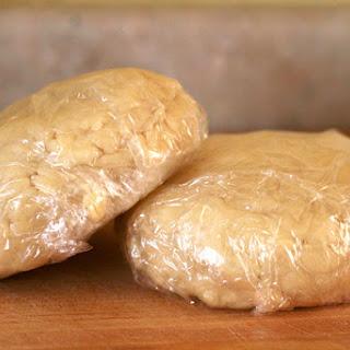 Perfectly Flaky Pie Crust.