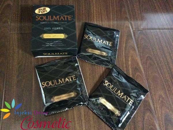 Kopi Penambah Vitalitas Pria Soulmate Premium Stamina Coffee 100% Herbal