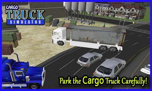 3D貨物トラックシミュレータ