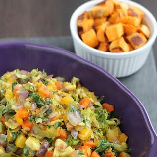 Vegetables for Breakfast? - Sautéed Breakfast Veggies