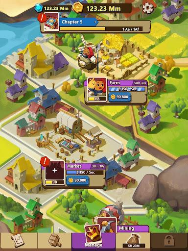Kingdomtopia: Idle Animal Tycoon screenshots 16
