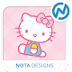 Pink Kitty ND Xperia Theme apk