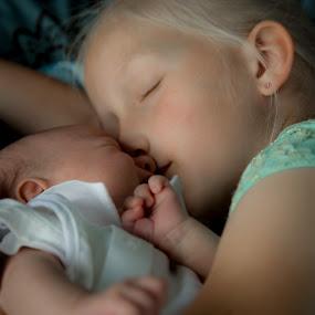 Sweet Innocence  by Richard States - Babies & Children Children Candids ( love, tender, innocence, children candids, children,  )