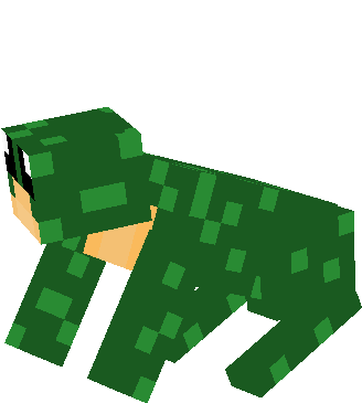Made by Webfrog, A replica of his skin, but wild