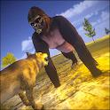 Gorilla Sim Dino Gorilla Game 2019 icon
