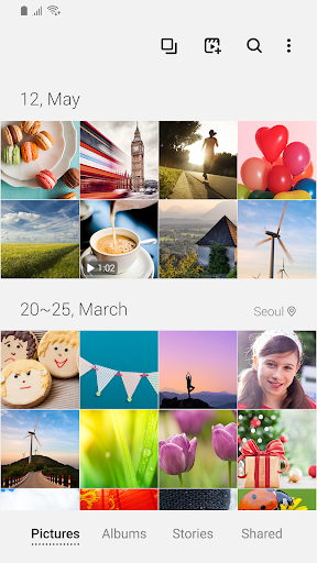 Samsung Gallery screenshot 1