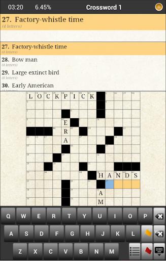 Crossword Challenges English