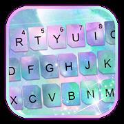 Pastel Galaxy Colors Keyboard Theme