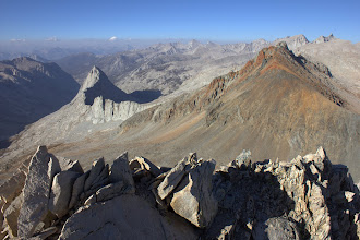 Photo: The Great Western Divide from Triple Divide Peak, north