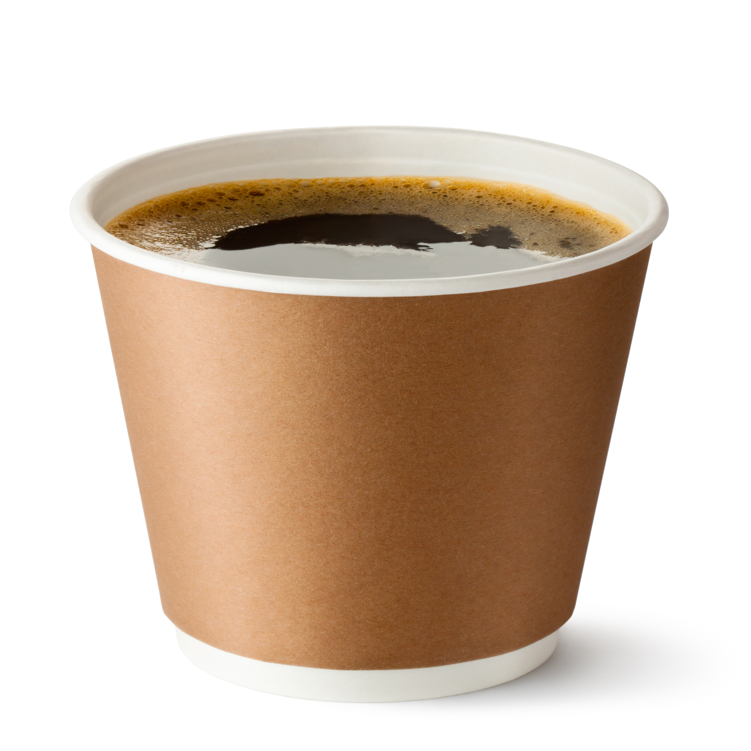 Paper Cups with Plastic Lids