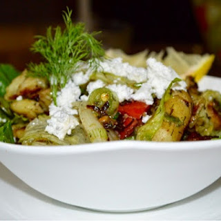 Grilled Baby Potato and Dill Salad