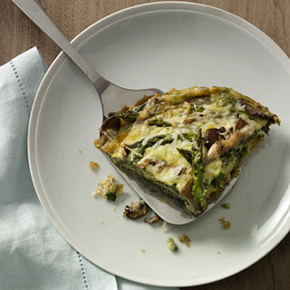 Asparagus-and-Mushroom Frittata.