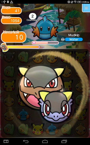 1 Pokémon Shuffle Mobile App screenshot