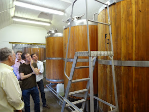 Photo: Owen toured the St. Peter's brewery with a small group of beer loving lads from London.
