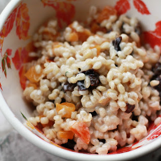 Barley Oatmeal with Apricots and Prunes Recipe