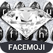 Diamond Keyboard Theme & Silver Diamond Keyboard APK