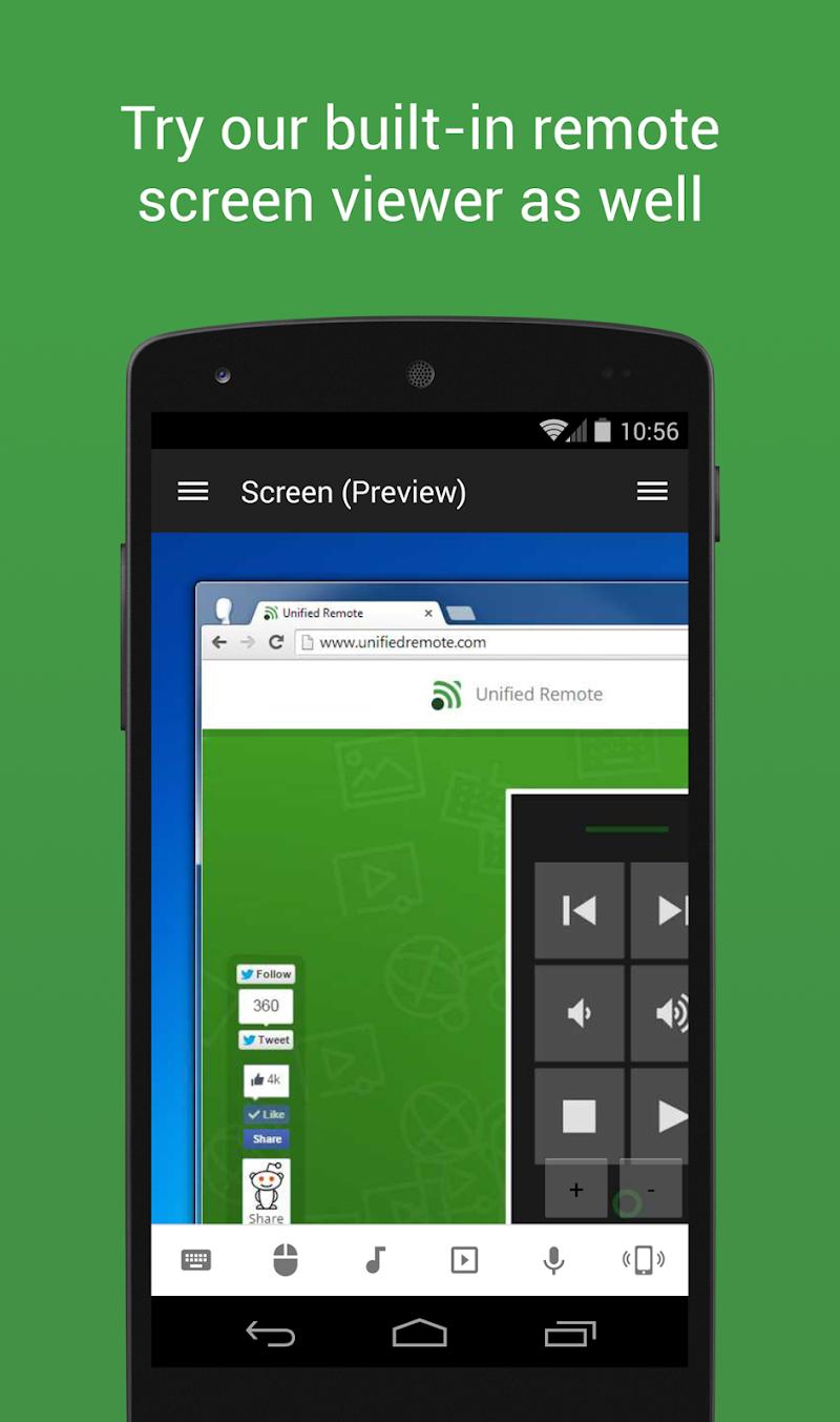 Unified Remote Full Screenshot 5