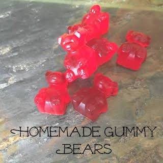Homemade Gummy Bears.