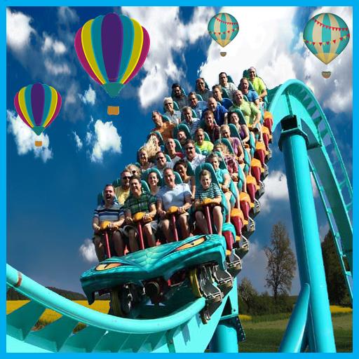过山车公园Simulatr 休閒 App LOGO-硬是要APP