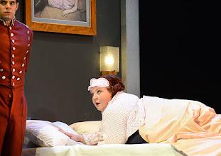 Photo: Wien/ Theater in der Josefstadt: DER GOCKEL von Georges Feydeau. Inszenierung: Josef E. Köpplinger. Premiere 19.11.2015. Josef Ellers, Susanne Wiegand. Copyright: Barbara Zeininger