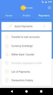 myAccess mobile banking- screenshot thumbnail