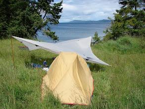 Photo: Campsite at James Bay.