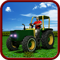 Farm Harvester Tractor Sim 3d icon