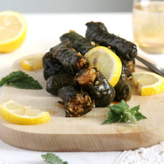 Syrian Stuffed Grape Leaves