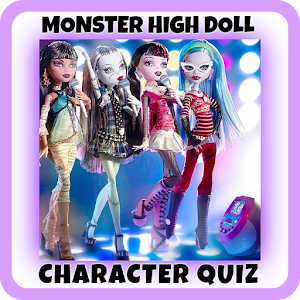 Monster High Doll - Guess the Character Quiz