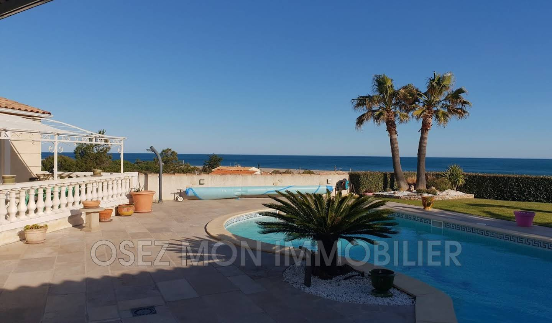 Villa avec piscine et terrasse Fleury d'aude