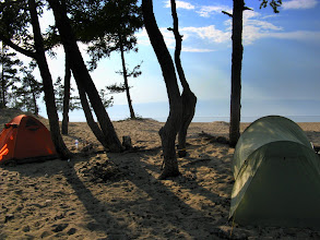 Photo: Camping - Olkhon island, Lake Baikal