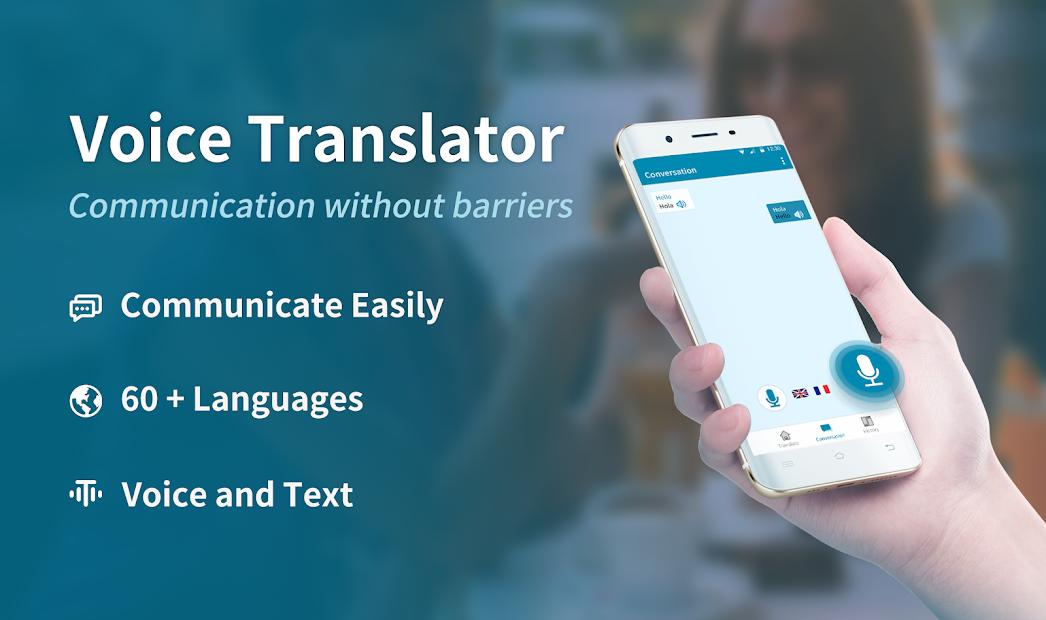 Language Translator, Pronounciation & Conversation Android App Screenshot