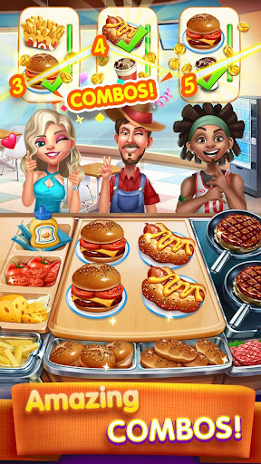 Cooking City: crazy chef' s restaurant game 1.19.3973 screenshots 2