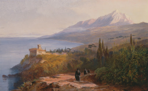 Mount Athos and the Monastery of Stavronikétes