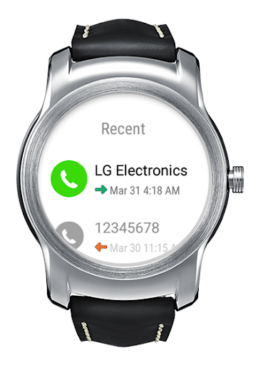 LG 전화 for Android Wear