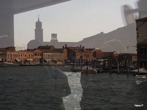 Photo: Warten aufs Vaporetto. Auf Murano.