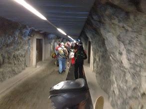 Photo: walk through tunnel to destination
