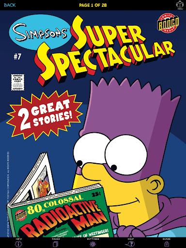 Simpsons Store Screenshot