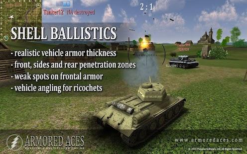 Armored Aces - 3D Tanks Online- screenshot thumbnail