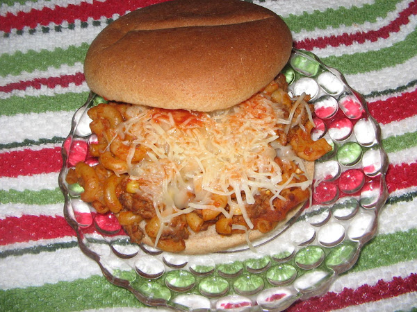 Macaroni Burger Recipe