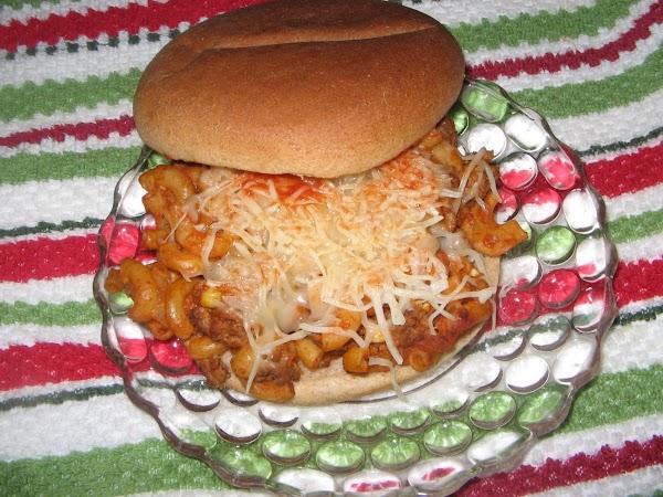 Macaroni Burger Recipe