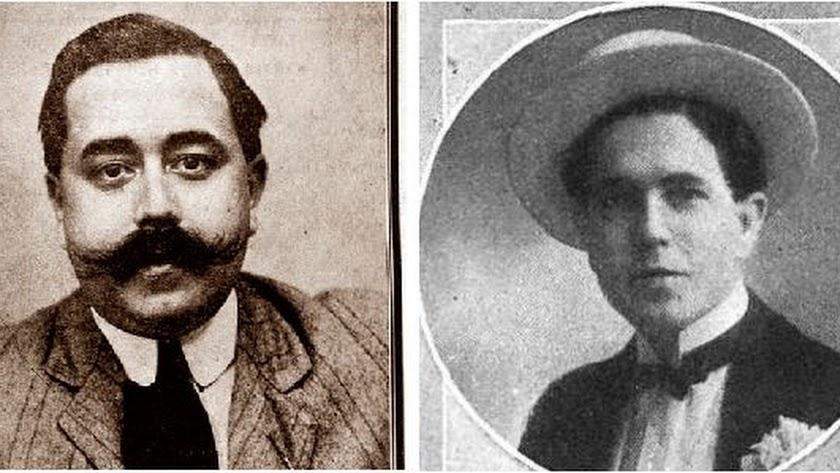 Diego y José Calvache Gómez de Mercado, hijos del patriarca de la saga.