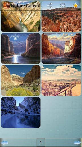 自然峡谷背景