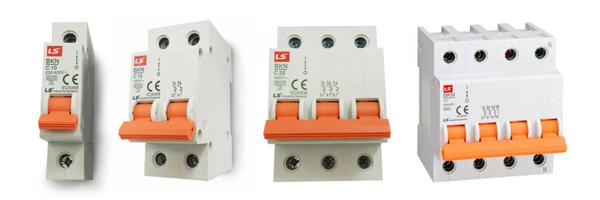 Thiết bị điện LS - Aptomat dạng tép MCB LS