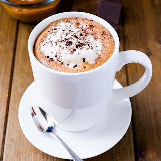 Pisco-Spiked Dulce de Leche Hot Chocolate.