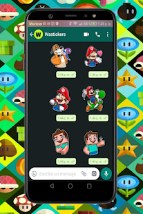 sticker de videojuegos Screenshot